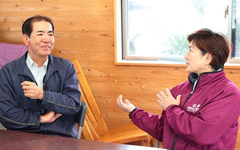 常光さんと和子さんインタビュー